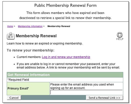 32. Membership Renewal